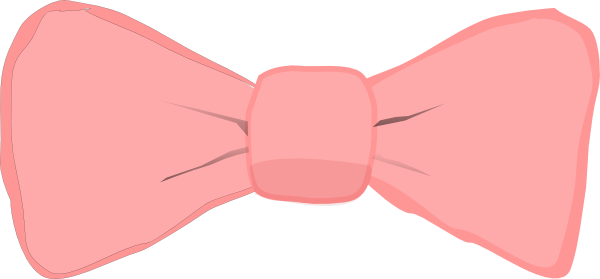 Pink Bow Clip Art at Clker pluspng.com - vector clip art online, royalty free u0026  public domain - Baby Pink Bow PNG