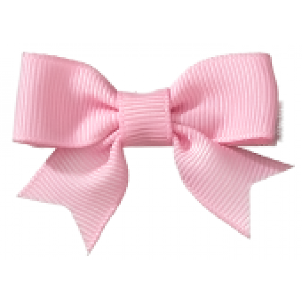 . PlusPng.com Pink HAIR CLIP EMILY BABY BOW PINCH CLIP PlusPng.com  - Baby Pink Bow PNG