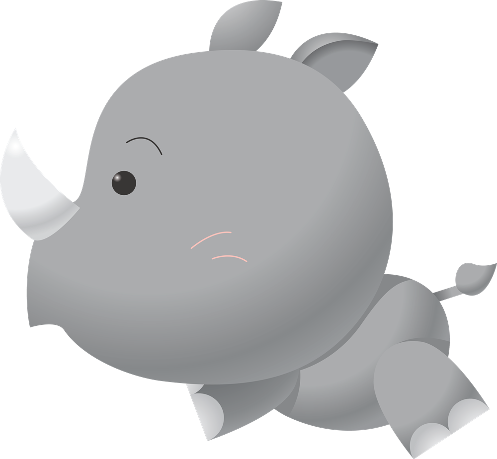Baby Rhino PNG-PlusPNG.com-1000 - Baby Rhino PNG