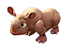 File:Rhino Baby.png - Baby Rhino PNG