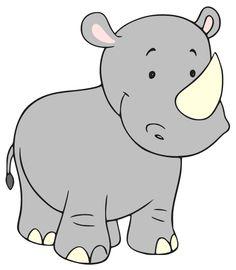 Pin Rhino Clipart #10 - Baby Rhino PNG