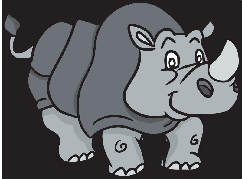 Pin Rhino Clipart #8 - Baby Rhino PNG