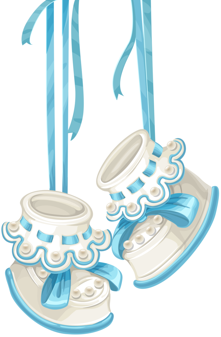 Baby Boy Hanging Shoes by Rosemoji PlusPng.com  - Baby Shoes For Boys PNG