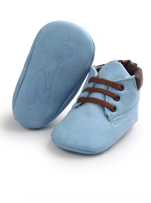 . PlusPng.com Prewalker Baby Boy Shoes. Blue prewalker shoes - Baby Shoes For Boys PNG