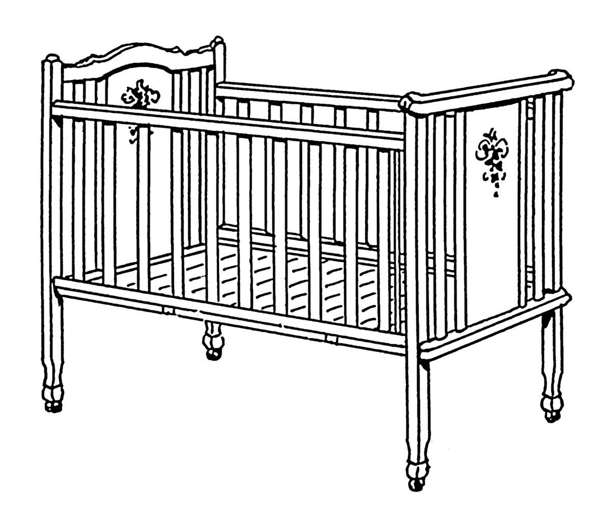 Baby Sleeping In Crib PNG-PlusPNG.com-1200 - Baby Sleeping In Crib PNG