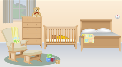 Baby Sleeping In Crib PNG-PlusPNG.com-401 - Baby Sleeping In Crib PNG
