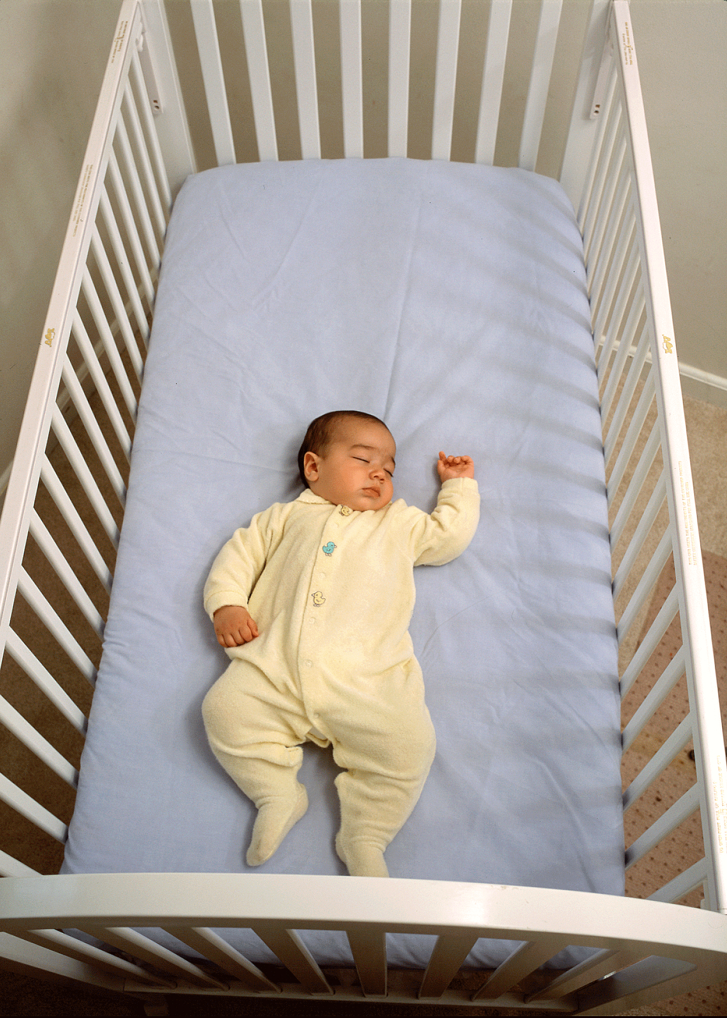 Download 1500x2100 resolution PlusPng.com  - Baby Sleeping In Crib PNG