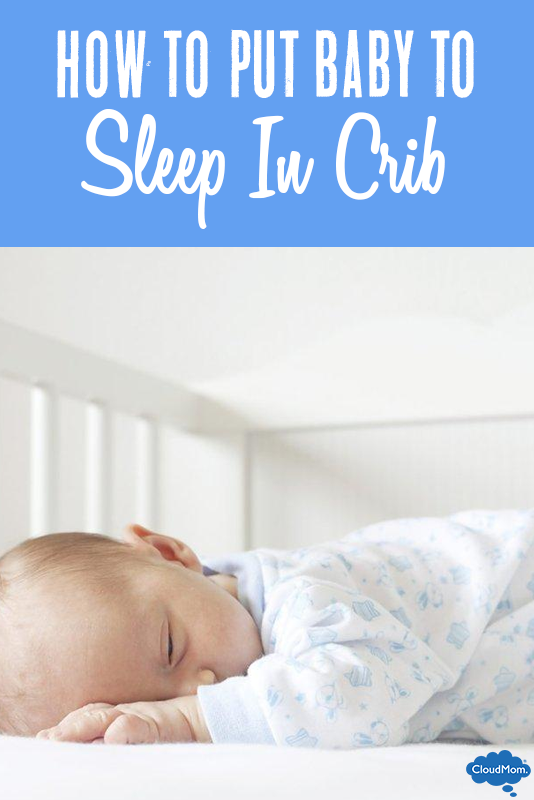 How To Put Baby To Sleep In Crib - Baby Sleeping In Crib PNG