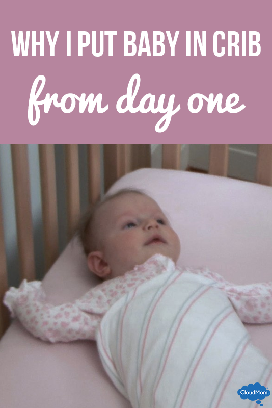 Why I Put Baby in the Crib From Day One - Baby Sleeping In Crib PNG