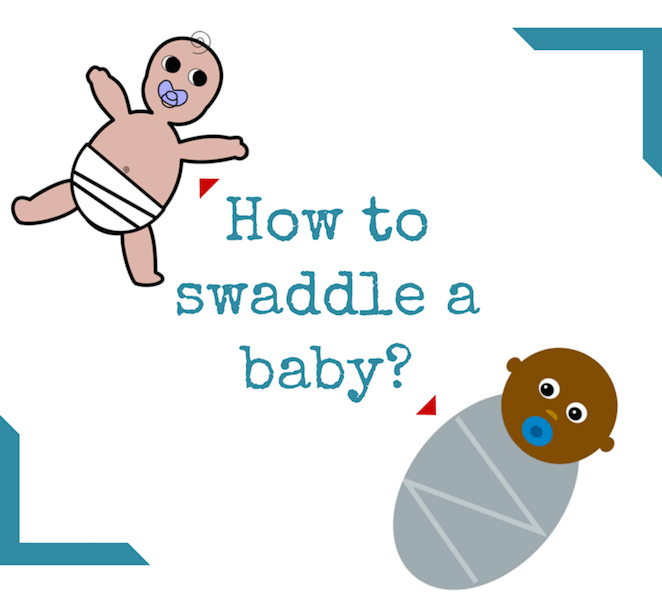 How to swaddle a baby yourself, how swaddling can benefit baby, how to do  proper swaddling all these questions are answered today in our post guided  by step PlusPng.com  - Baby Step PNG