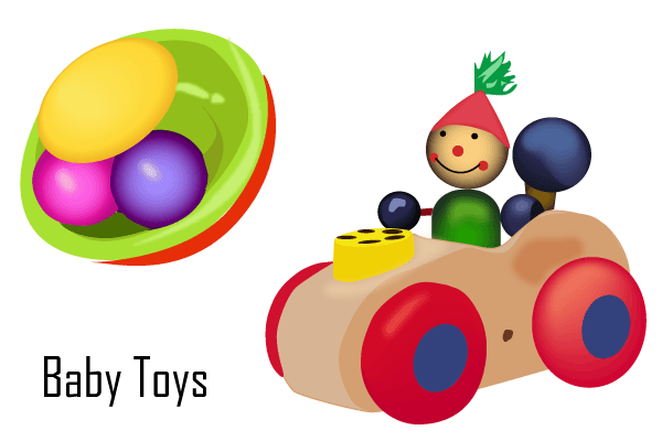 Baby Toys PNG Borders-PlusPNG.com-600 - Baby Toys PNG Borders