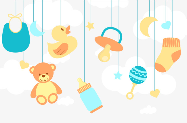 baby toys, Baby Toys, Cartoon Toys, Baby Products PNG and PSD - Baby Toys PNG Borders