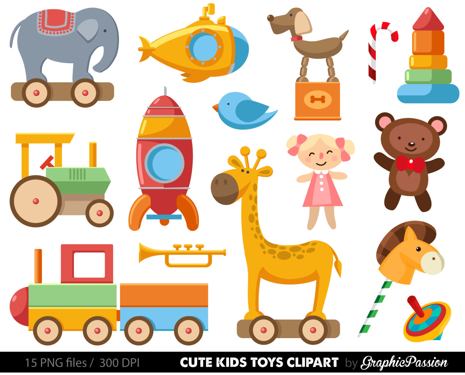 Baby Toys PNG Borders - 162414