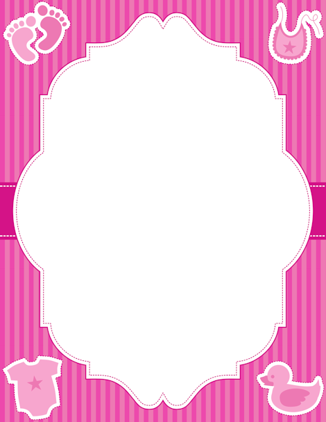 Free baby girl border templates including printable border paper and clip  art versions. File formats include GIF, JPG, PDF, and PNG. Vector images  are also PlusPng.com  - Baby Toys PNG Borders