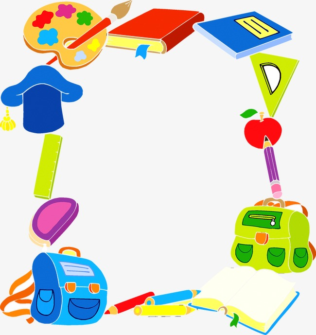 teaching elements borders, Teaching, Student, Learn PNG and Vector - Baby Toys PNG Borders