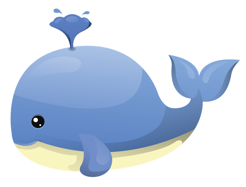 Baby Whale PNG - 53778