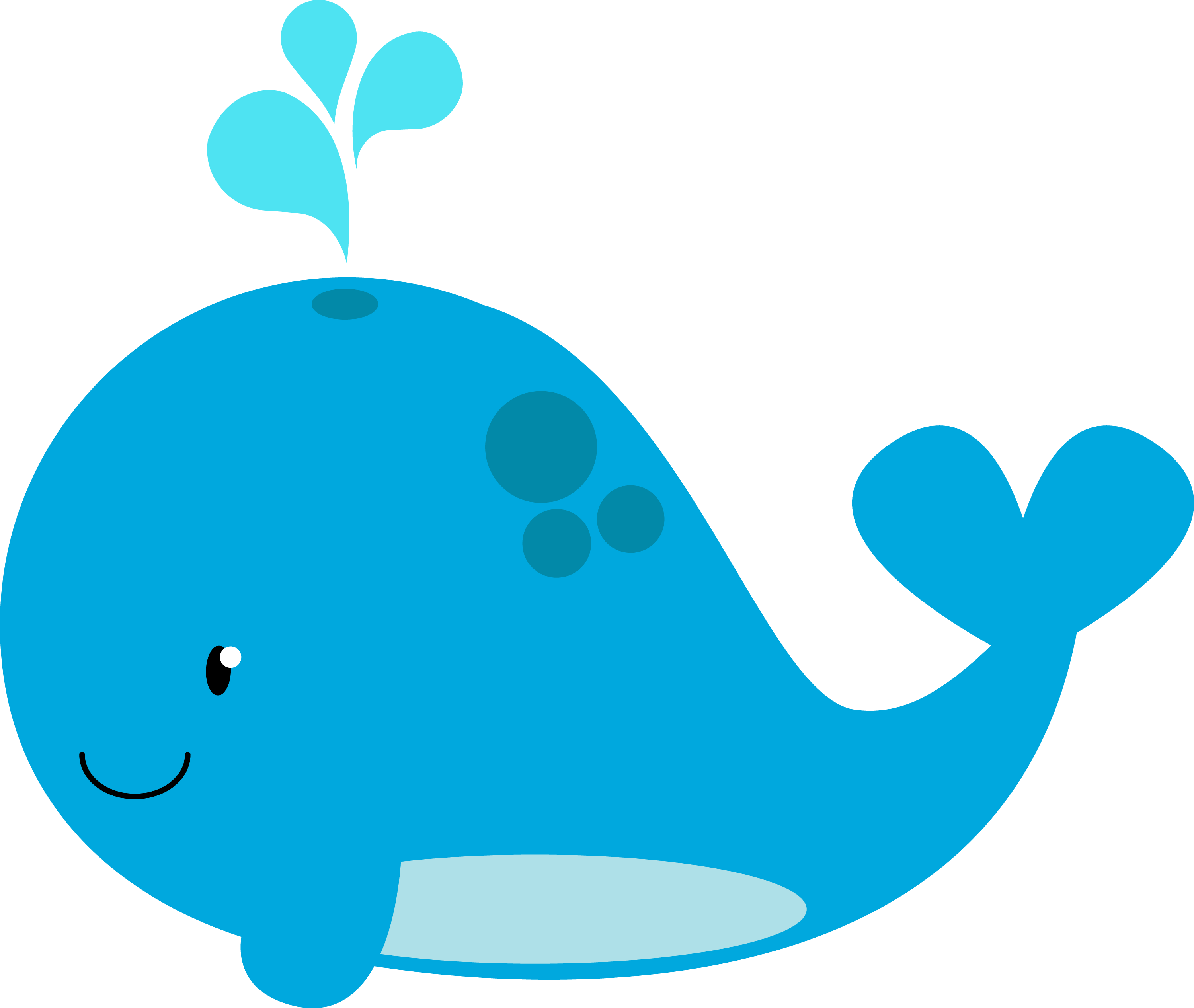 pin Whale clipart for kid #9