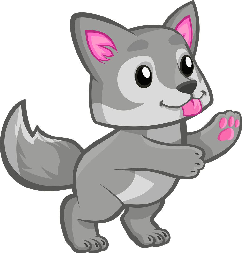 Baby Wolf PNG-PlusPNG.com-1000 - Baby Wolf PNG