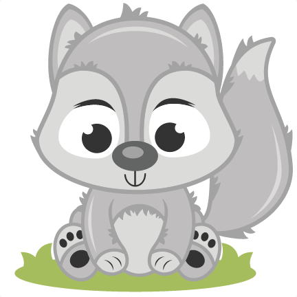 Baby Wolf SVG cutting file baby svg cut file free svgs free svg cuts wolf  svg cut file - Baby Wolf PNG