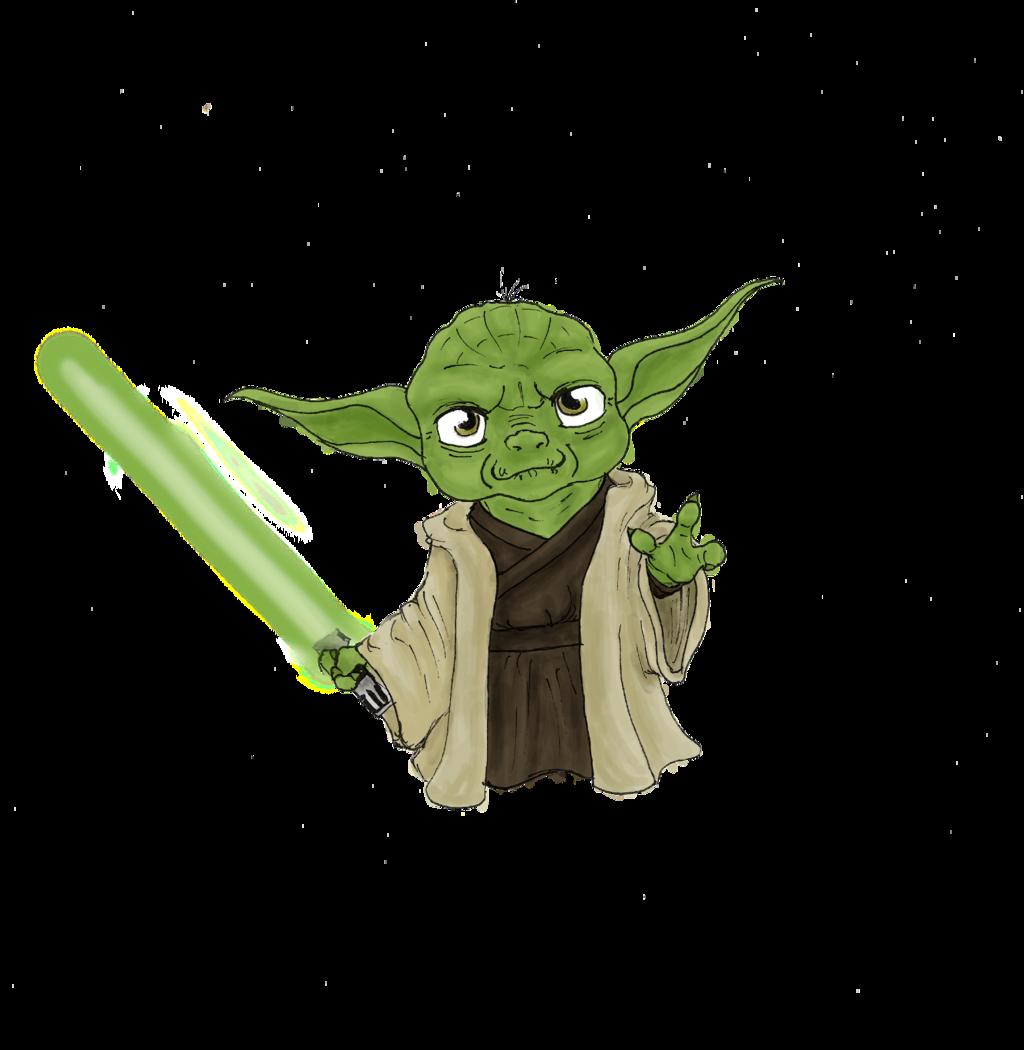 chibi Yoda by minihumanoid chibi Yoda by minihumanoid - Baby Yoda PNG