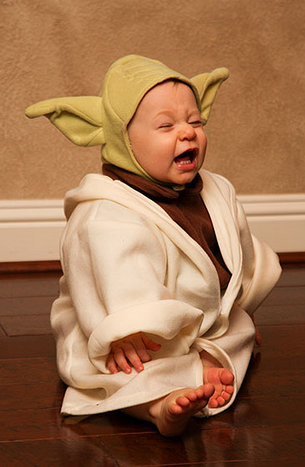 Yoda Baby Costume - Baby Yoda PNG