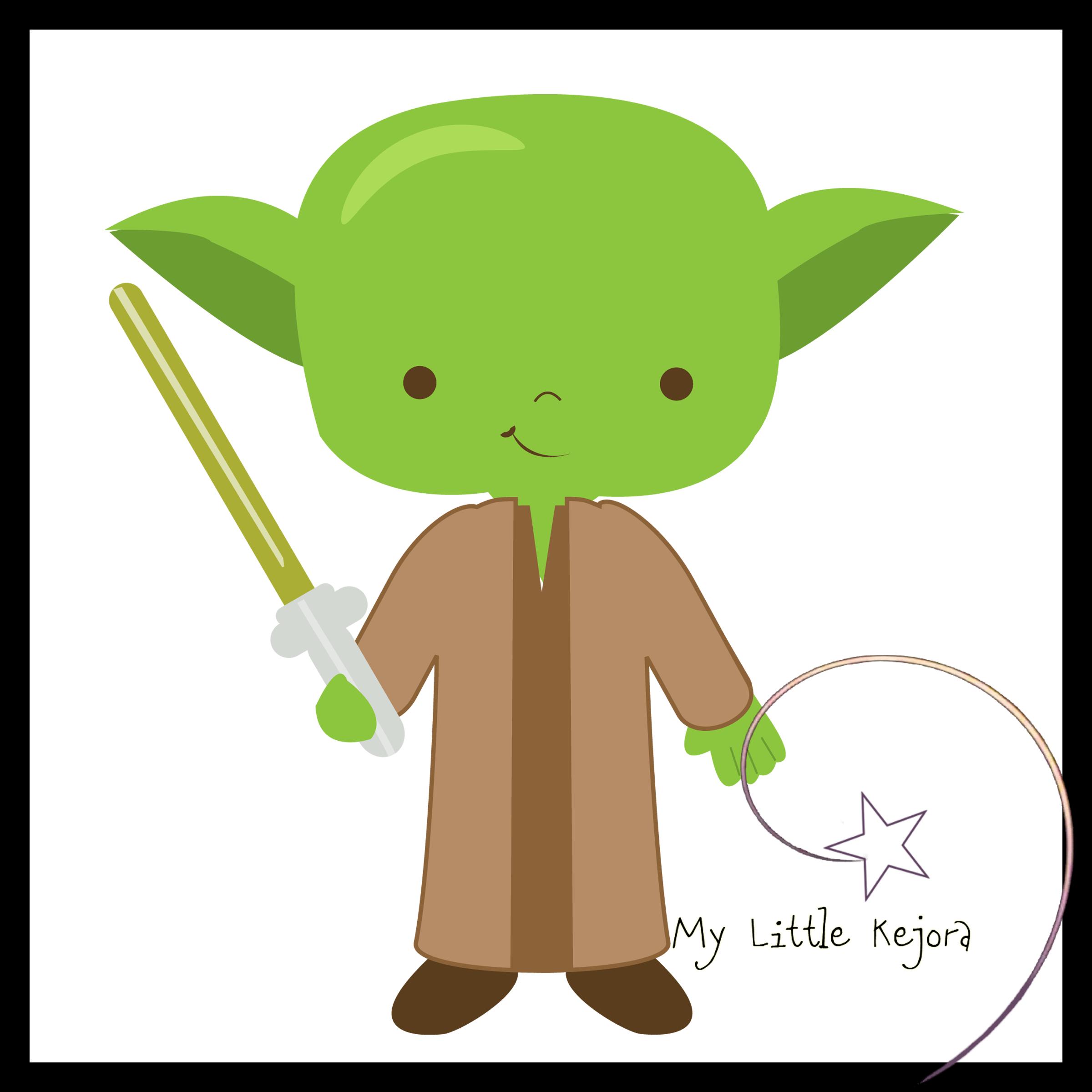 Yoda Clip Art Cliparts - Baby Yoda PNG