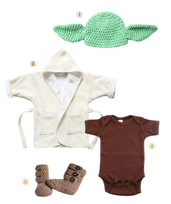 Yoda. Too Bad I No Longer Have A Tiny Baby To Dress Up. - Baby Yoda PNG