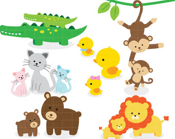 Image result for baby animals clipart