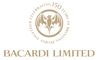Filename: Bacardi-Limited-150th-logo-transp-original.png - Bacardi Limited PNG