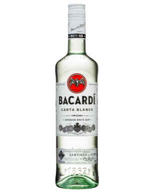 Bacardi Superior White Rum 700mL - Bacardi PNG