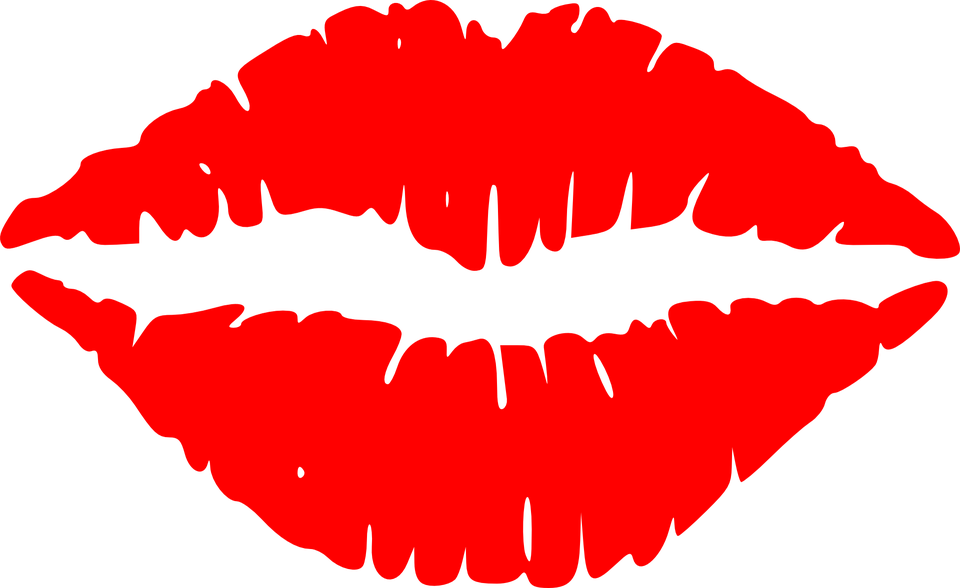 labbra bocca parlare bacio rossetto viso parlando - Bacio PNG