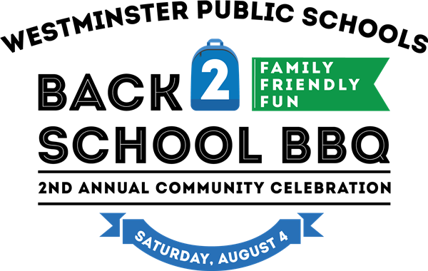 westminster public schools back 2 school BBQ logo; text family friendly fun  2nd annual community - Back To School Bbq PNG