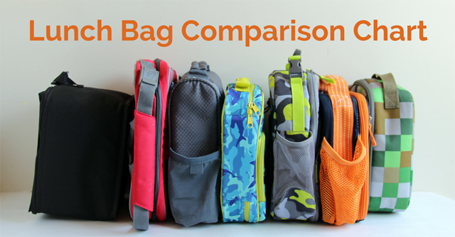 Lunch Bag Comparison -- all the details about 7 popular brands, PLUS which  lunch