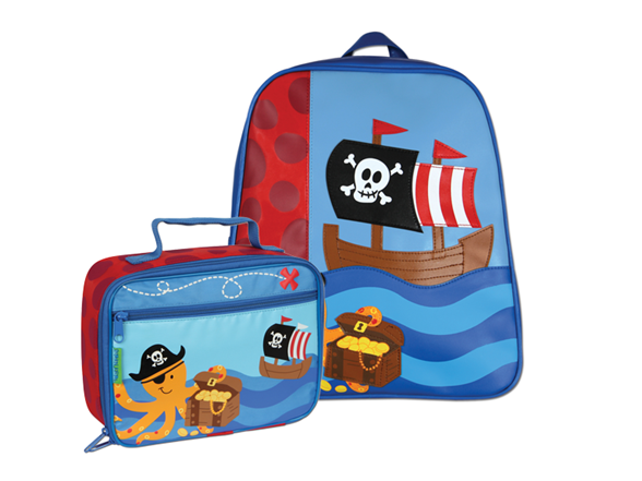 Backpack And Lunch Box PNG
