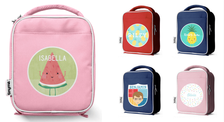 Backpack And Lunch Box PNG-Pl