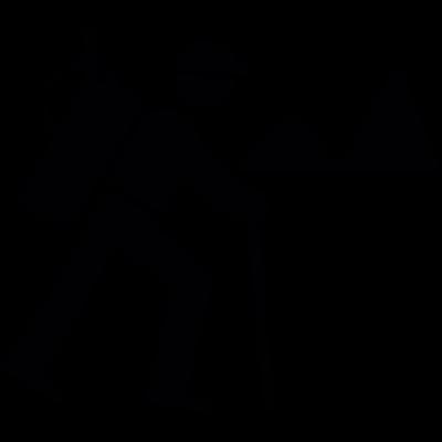 Backpacker Hiking - Backpacker Logo Vector PNG