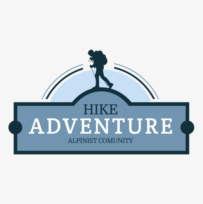 backpackers adventure travel Free PNG and Vector - Backpacker Logo Vector PNG