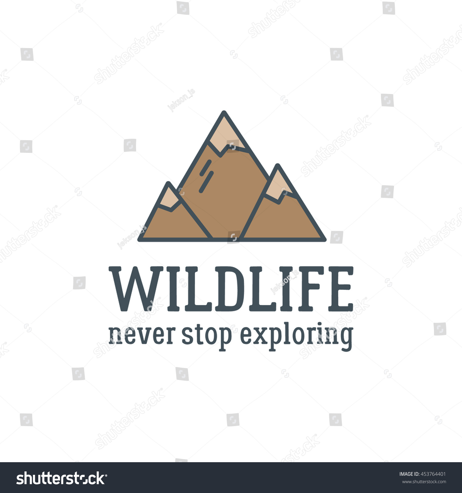 Camping Logo Design With Typography And Travel Elements - Mountain. Vector  Text - Wildlife, - Backpacker Logo Vector PNG