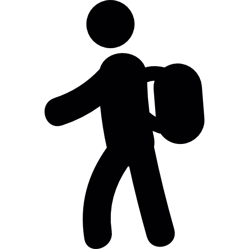 Backpacker free icon - Backpacker PNG
