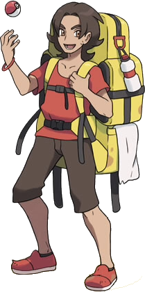 XY Backpacker.png - Backpacker PNG
