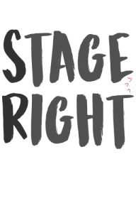 Stage Right Backstage Crew Tee-Shirt - Backstage Crew PNG