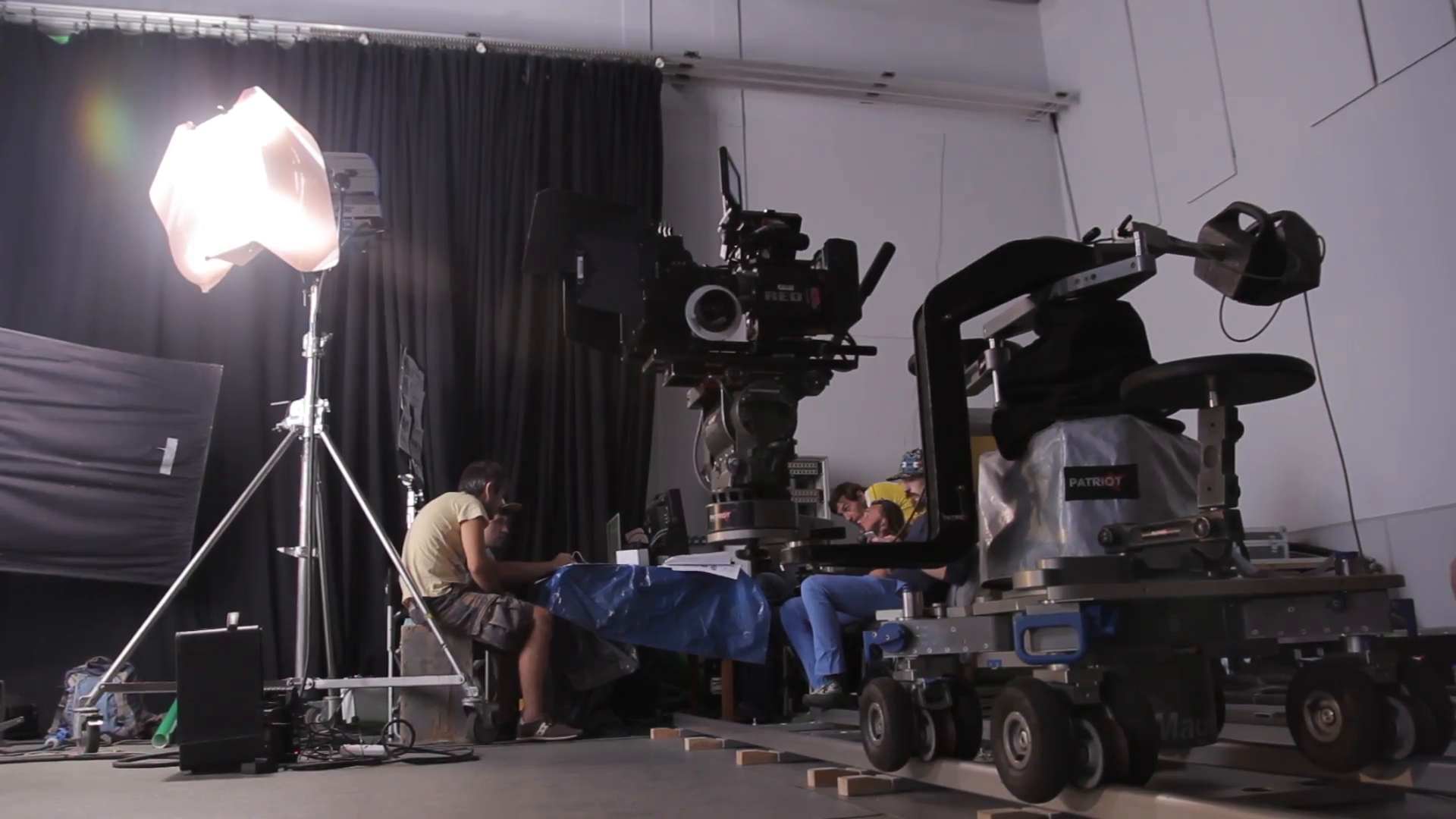 The backstage of the filming in the Studio. People on the set Stock Video  Footage - VideoBlocks - Backstage Crew PNG