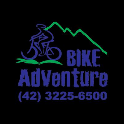 Bike Adventure Vector Logo logo - Backus Johnston Vector PNG