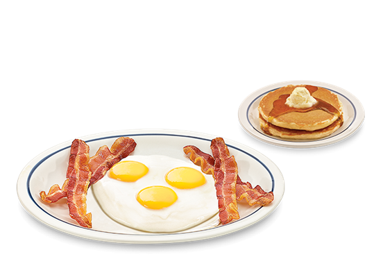 Bacon u0026 Eggs Breakfast - Bacon And Egg PNG
