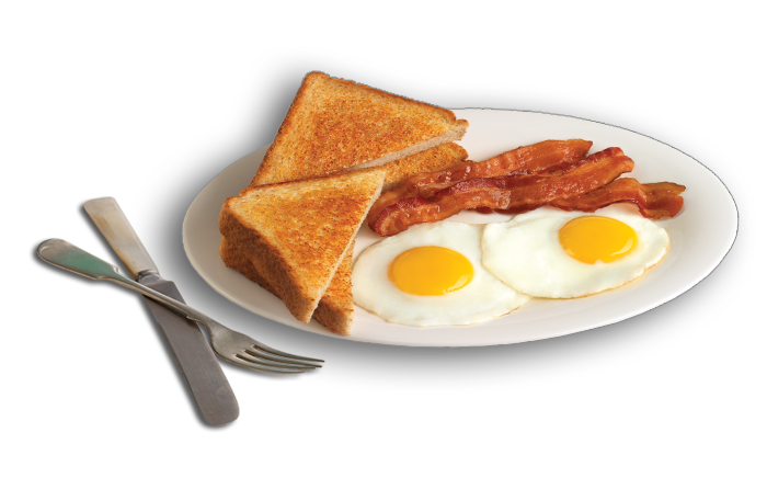 Classic Bacon u0026 Eggs - Bacon And Egg PNG