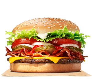 Bacon u0026 Cheese WHOPPER® Sandwich - Burger Sandwich PNG