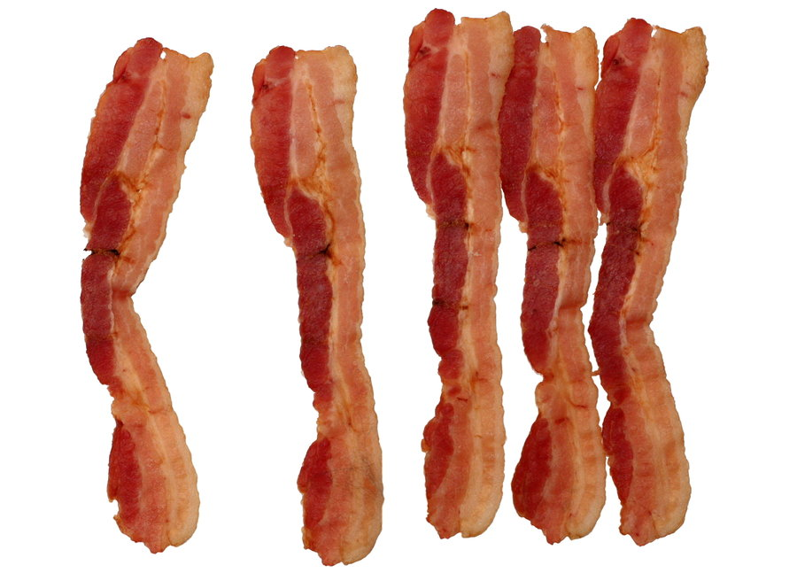 Bacon Strips by OneSmallSquare PlusPng.com  - Bacon Strips PNG