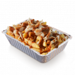 Chicken Loaded Chips - Bacon Strips PNG