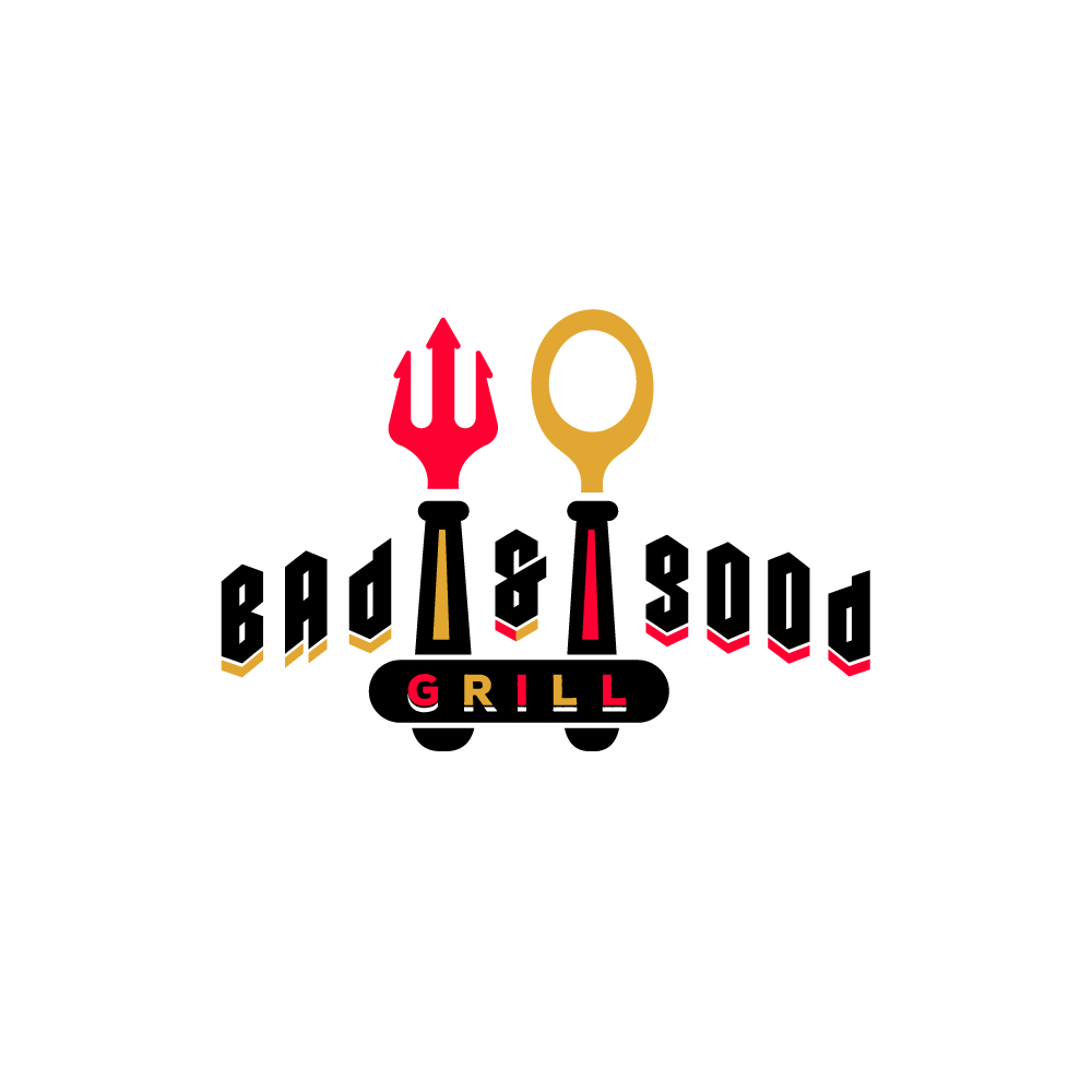 Homeu003eDesigned by Gregory Grigoriouu003eFor Sale: Bad and Good u2013 Restaurant Logo  Design - Bad Design Logo PNG