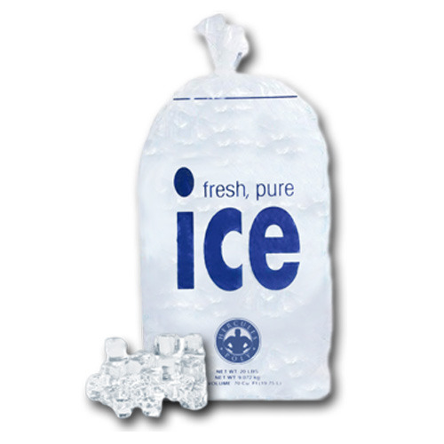 Bag Of Ice Cubes PNG-PlusPNG.com-500 - Bag Of Ice Cubes PNG